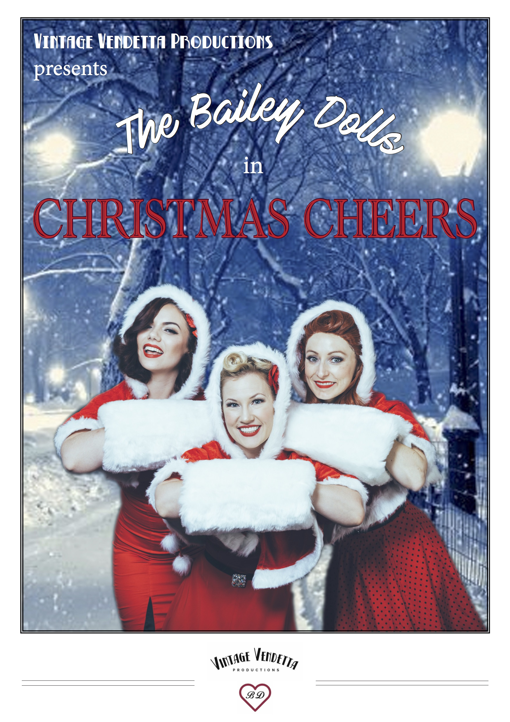 The Bailey Dolls - Christmas Cheers!