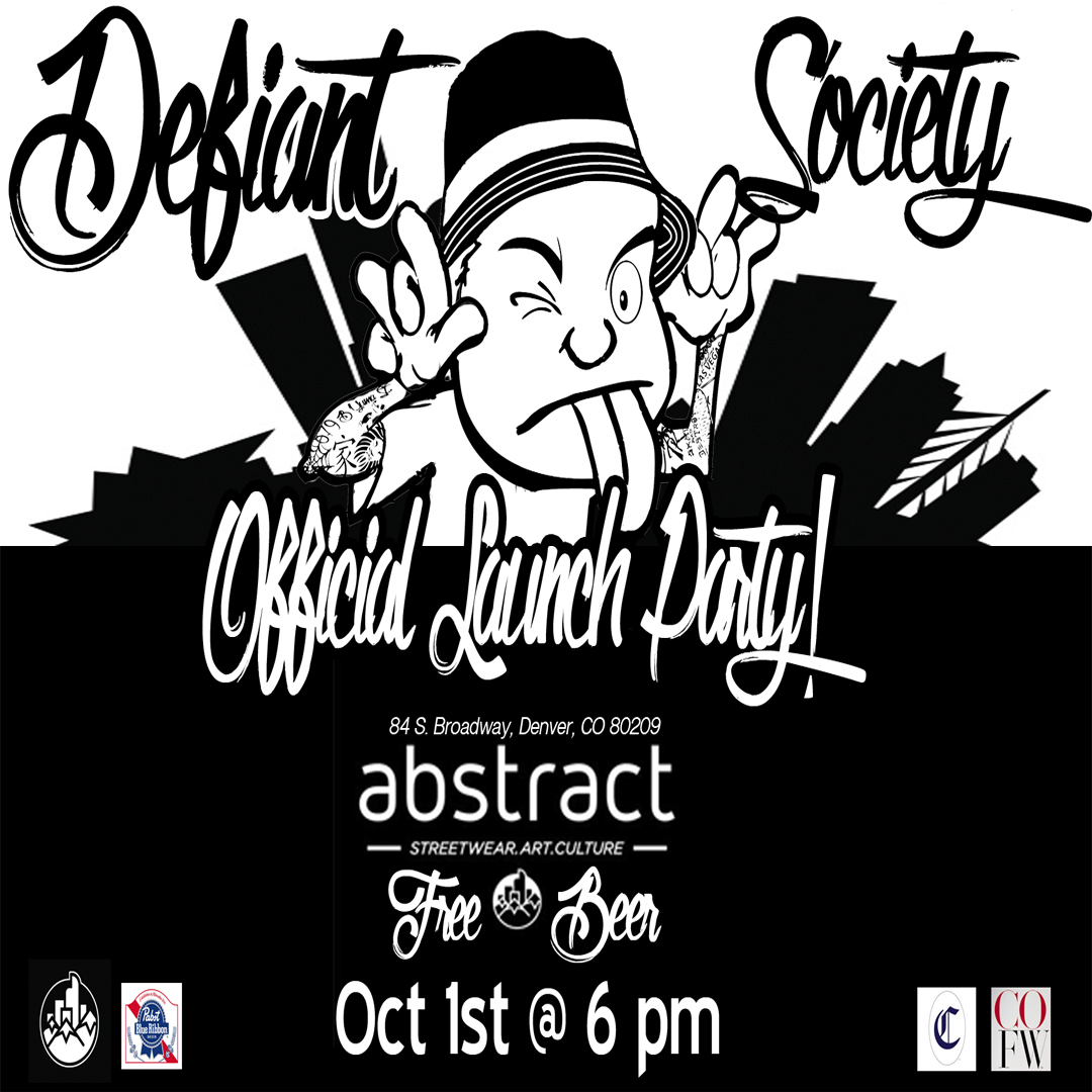 Defiant Society Streetwear Official Debut Party