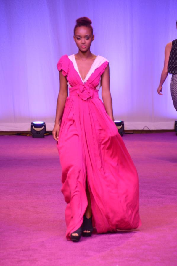 'Everyday Is CoFashionWeek' Runway Model Shot Campaign | with Model TIZ Jones in a Dress by Designer Rae Marie @ COFW '12