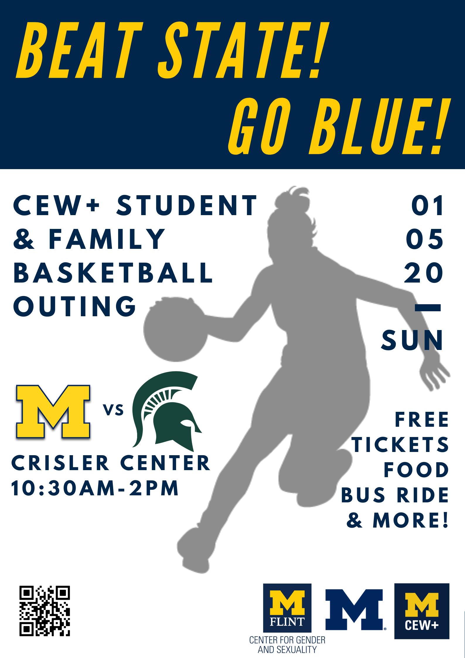 CEW basketball flyer