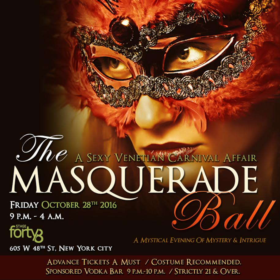 The Masquerade Ball - A Sexy Venetian Halloween Affair @ Stage48 ...