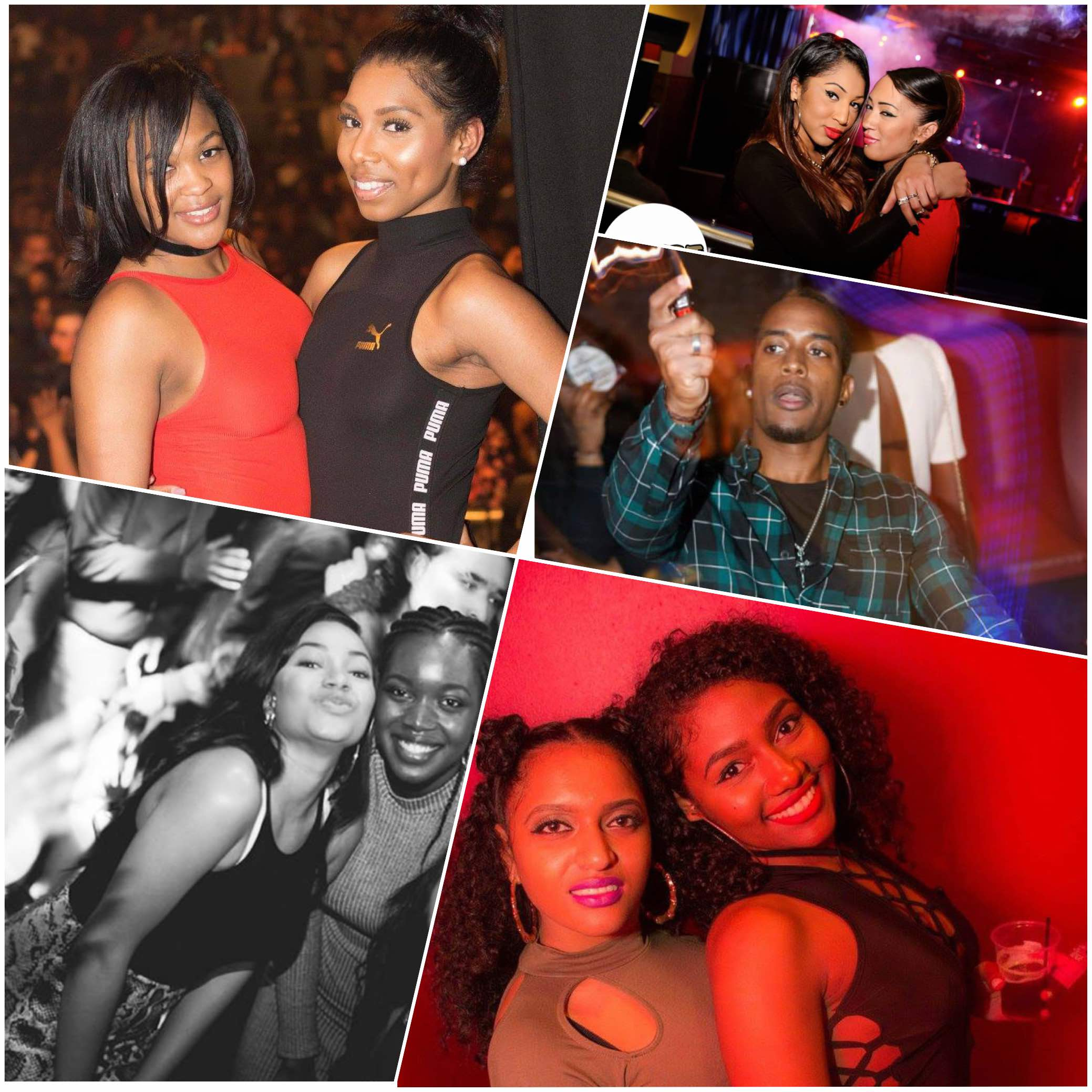 Bashment Party Picture Collage