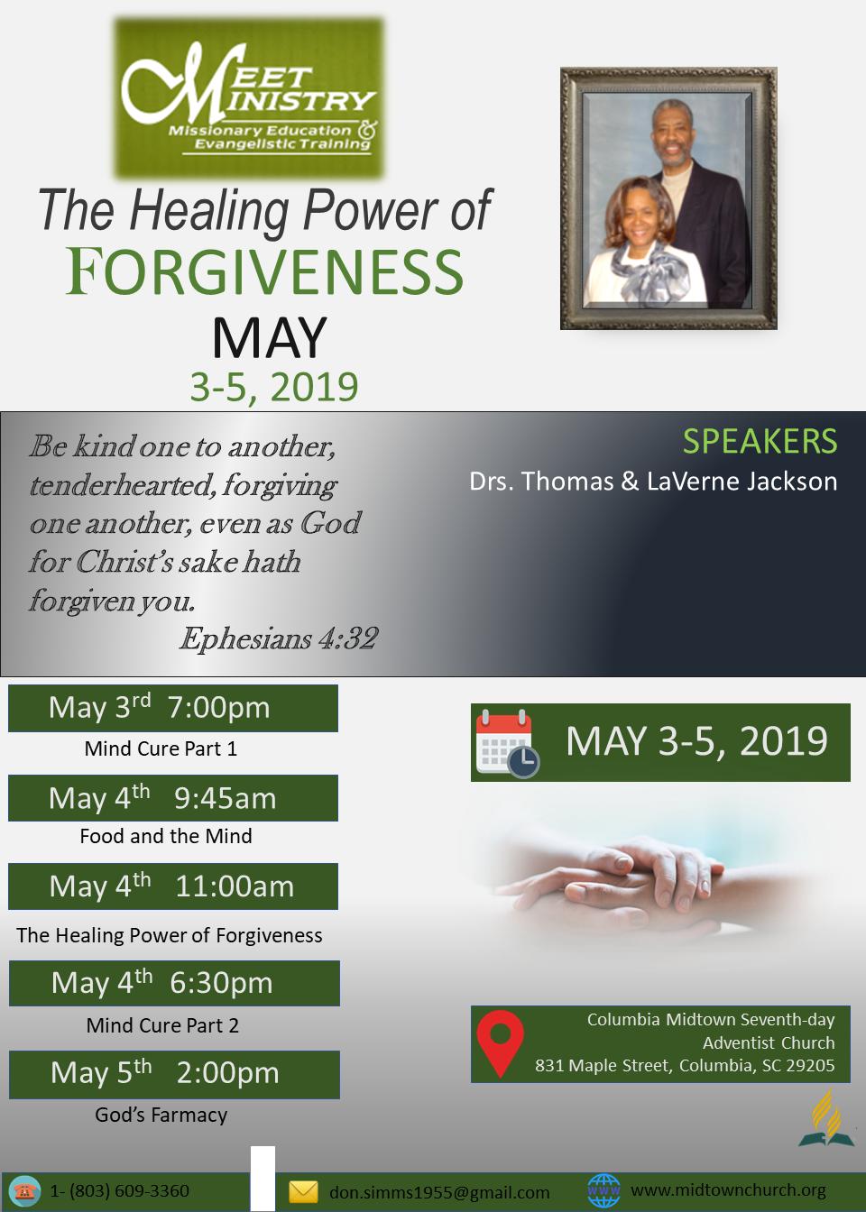 Health Seminar Information Flyer