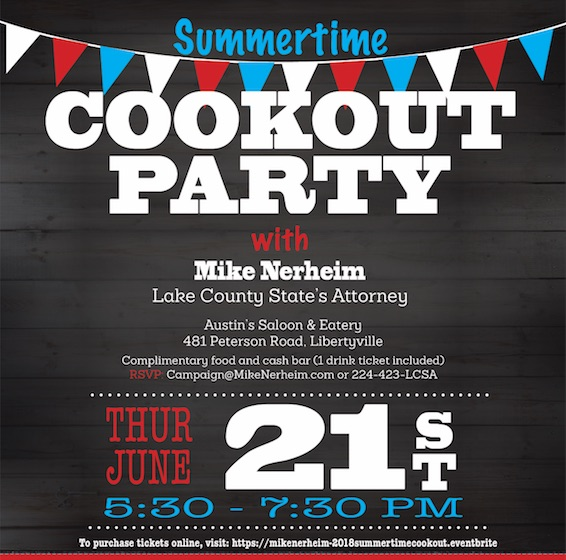 2018 Summertime Cookout Party