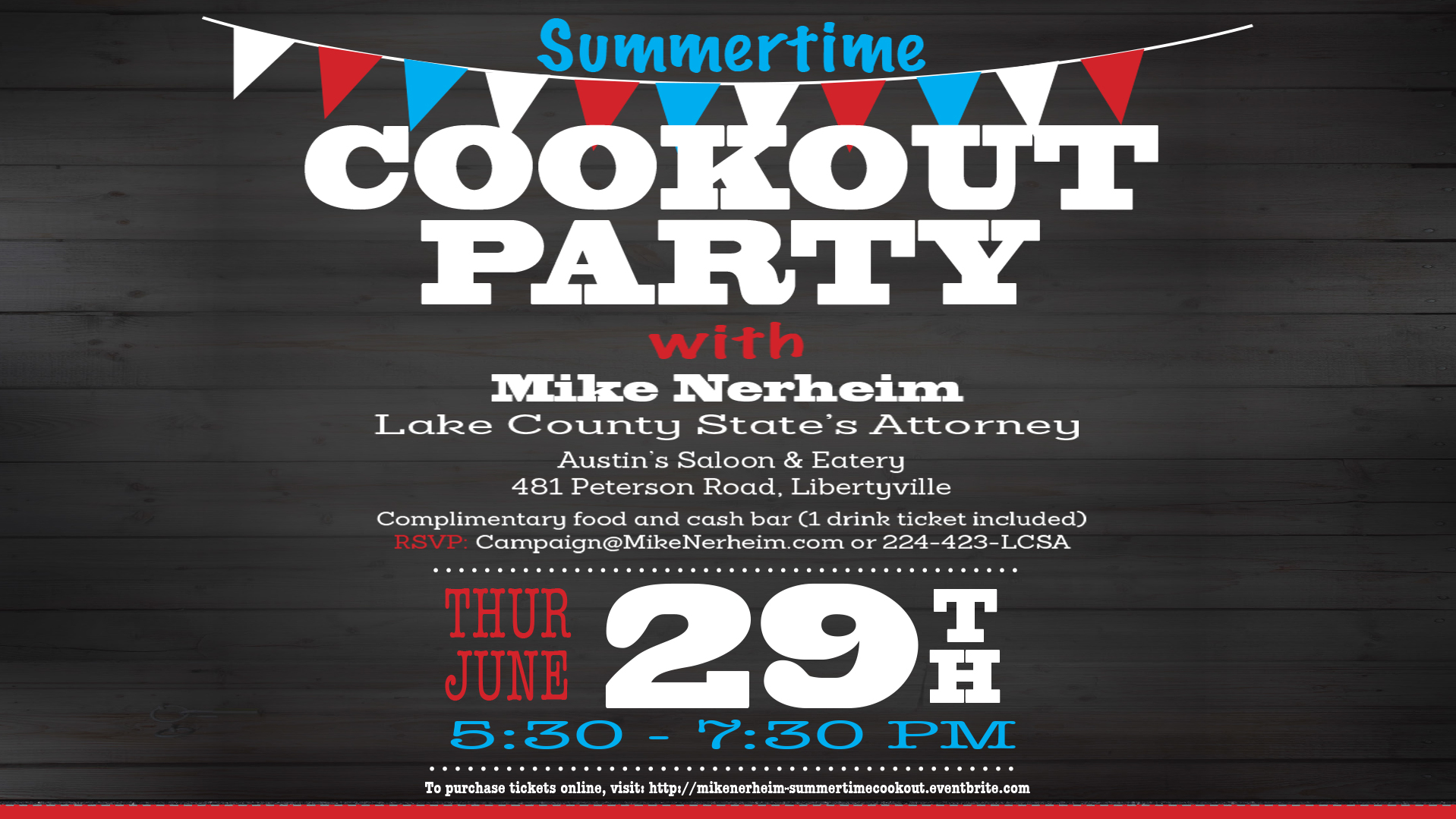 Summertime Cookout Party