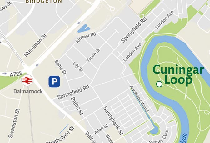 car park location map