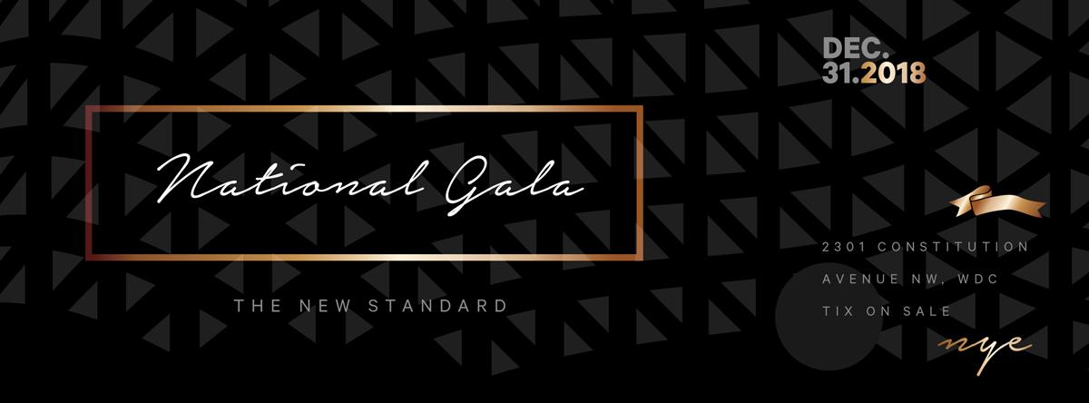 The National Gala Logo Header