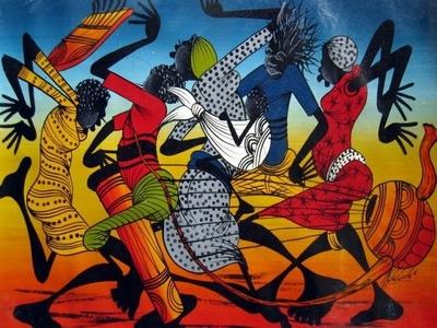 Kenyan traditional dance