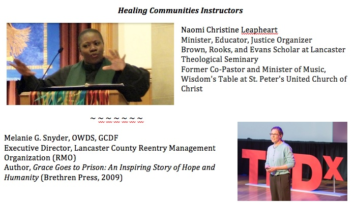 Healing Communities Instructors