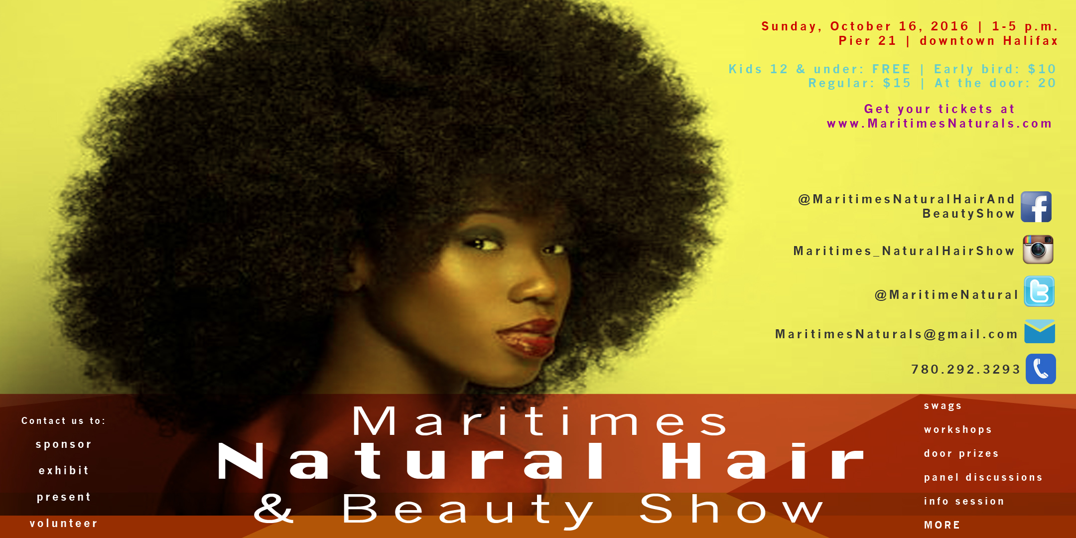 Maritimes Natural Hair & Beauty Show