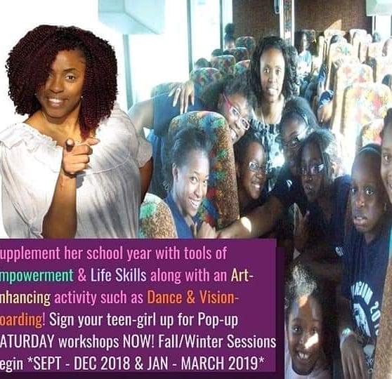 Pop up Saturday Goddaughters Workshops