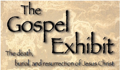 The Gospel Exhibit logo