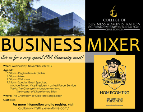 Business Mixer - Register today!