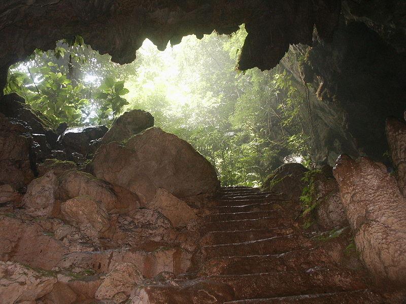 St Hermans Cave in Belize