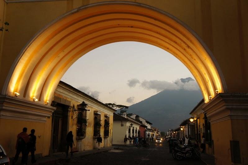 The Santa Catalina Arch in Antigua
