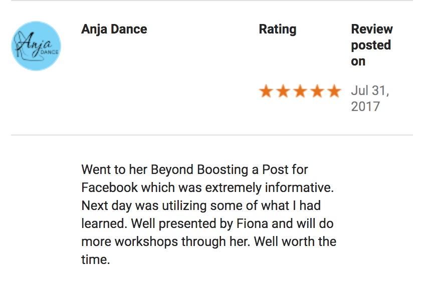 Review Anja Dance