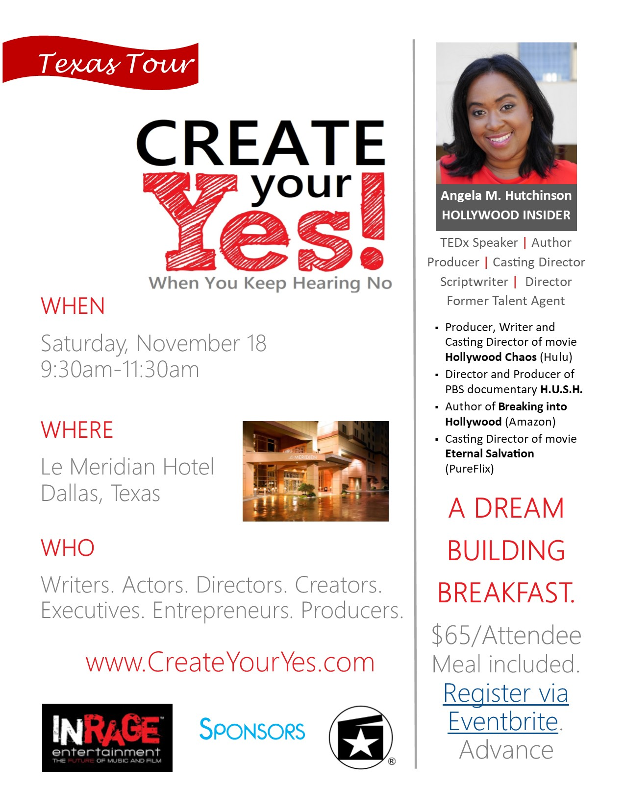 Create Your Yes Flyer