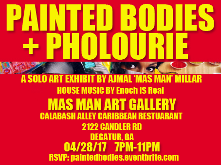 Coming very soon...Painted Bodies and Pholourie