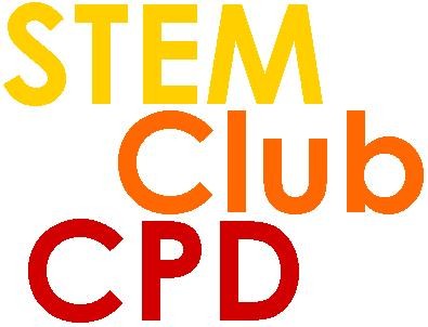 STEM club CPD logo
