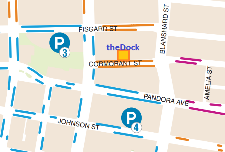 Parking and Regus Map