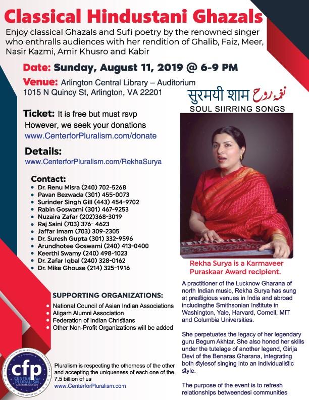Rekha Surya in Washington, DC
