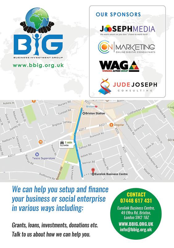 BIG Business Survival Workshop Directions