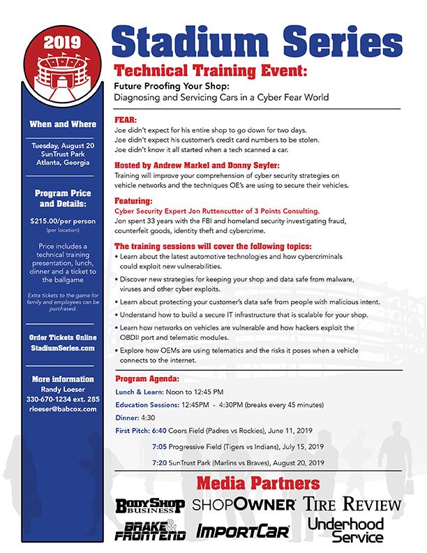 Cyber Security Event Atlanta Technical Training