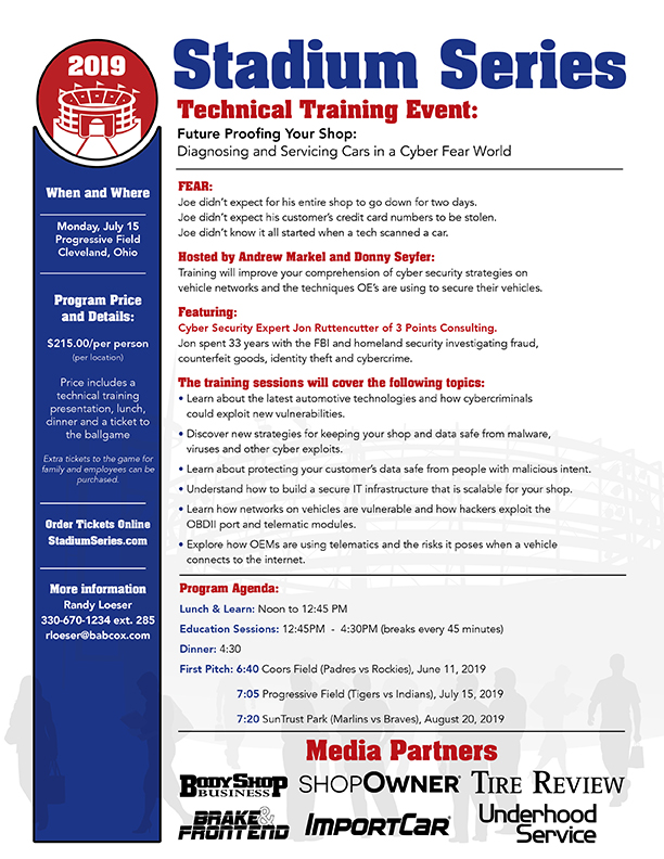 Cyber Security Technical Training Event Progressive Field