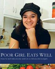 poor girl eats well