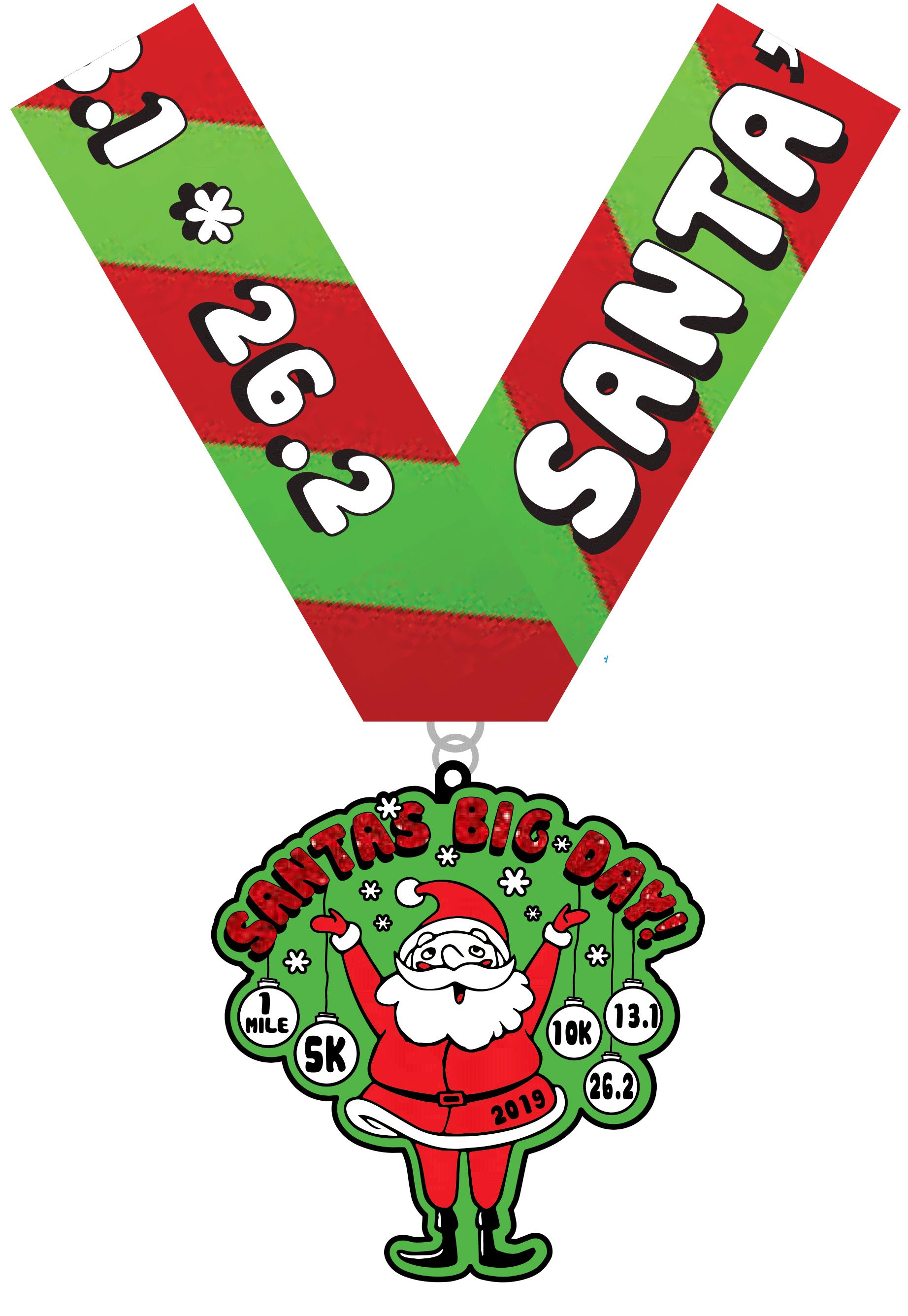 2019 Santa's Big Day 1M, 5K, 10K, 13 1, 26 2-Flint Tickets