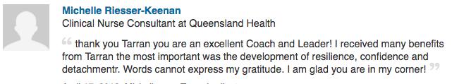 Michelle Keenan, Queensland Health Clinical Nurse Consultant