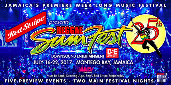 Red Stripe Presents REGGAE SUMFEST By DownSound Entertainment - Reggae sumfest