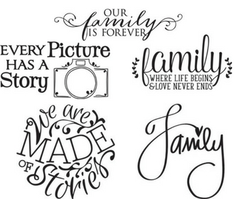 Family Picture Sign Options