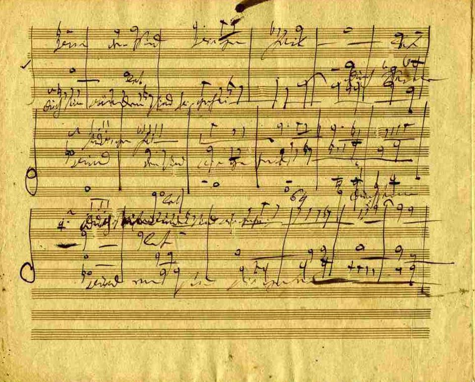 Handel's Messiah in Beethoven's Hand -- from the Karpeles Manuscript Library