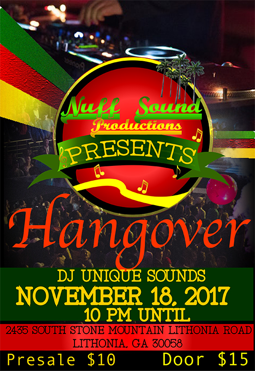 Hangover - Party with DJ Unique