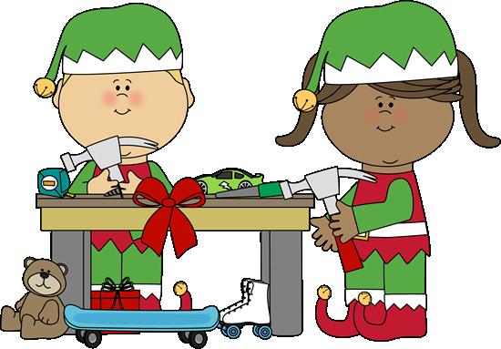 Elves Making Toys