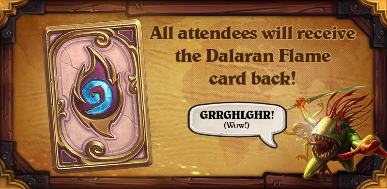 Dalaran Flame card back