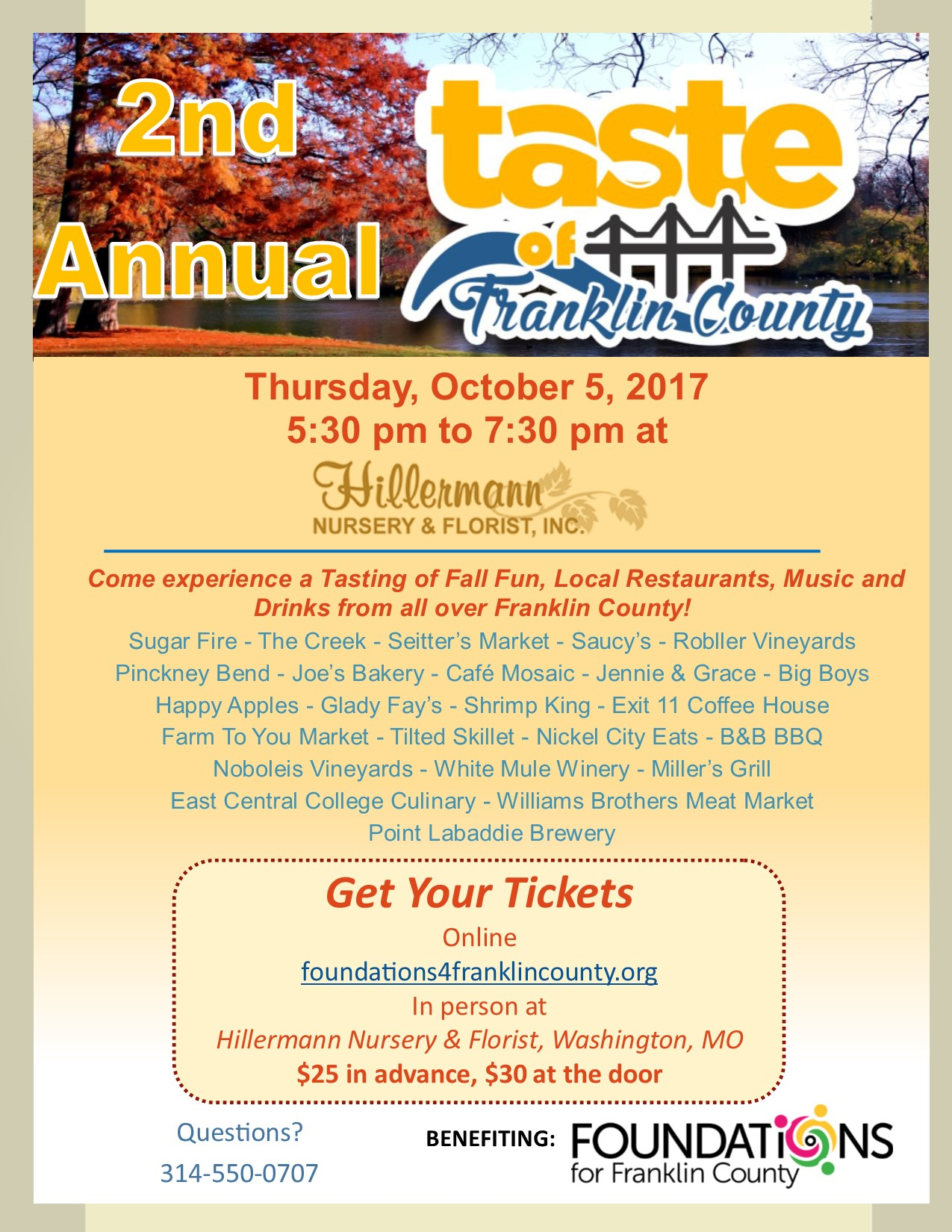 Taste of Franklin County