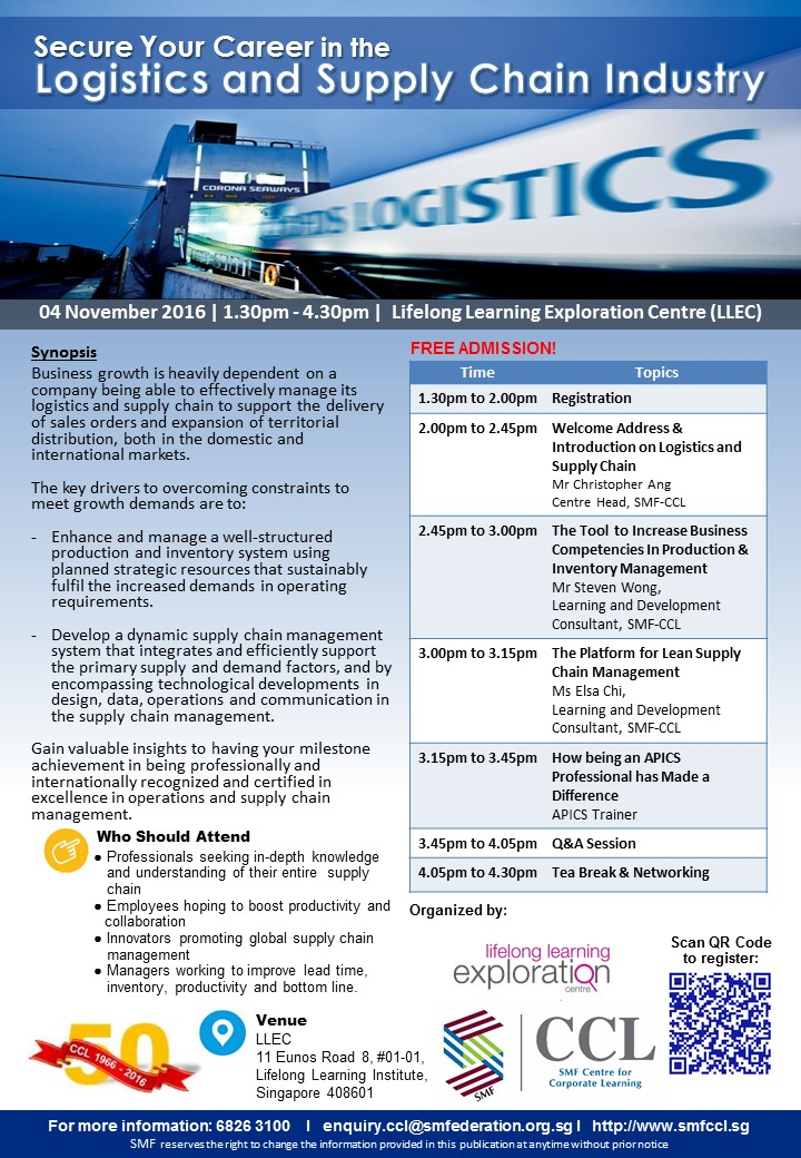 Secure Your Career in the Logistics and Supply Chain Industry