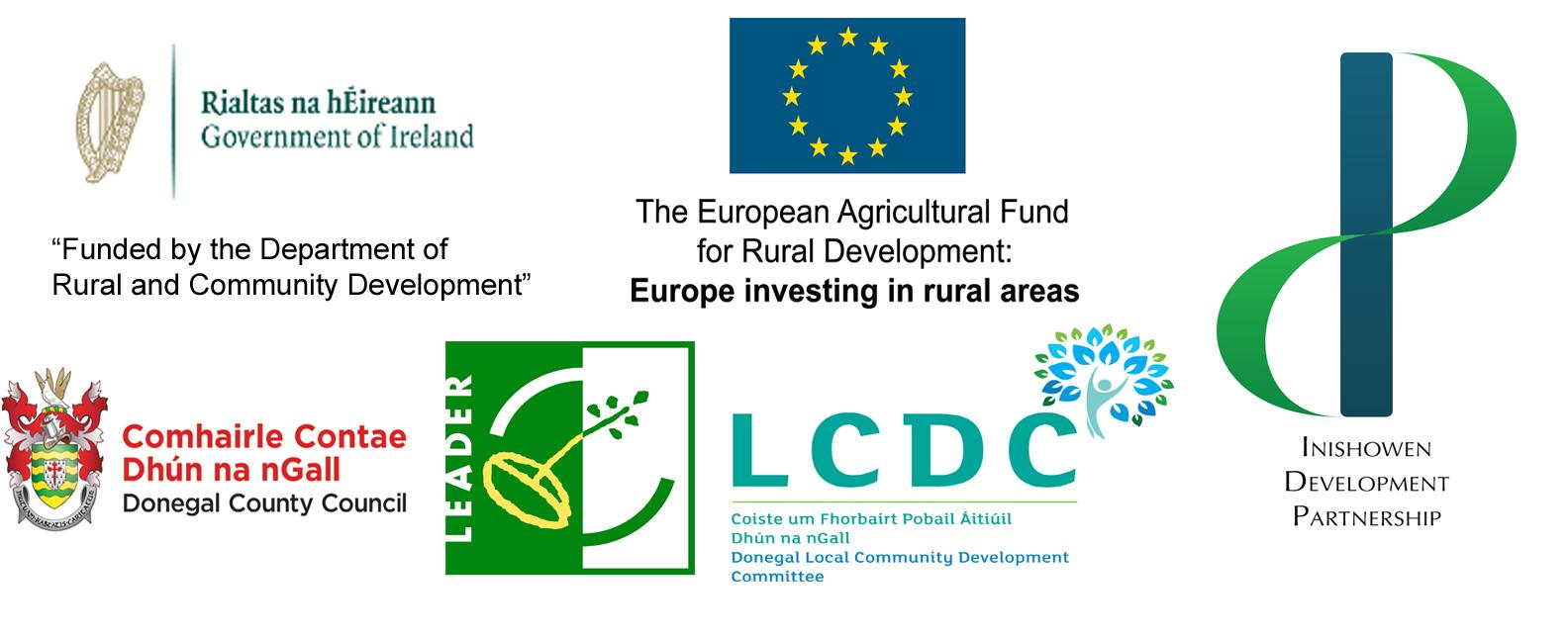 EU LEADER funding logos