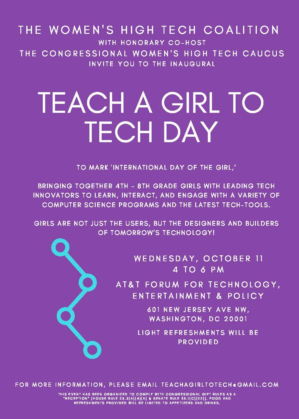 Teach a Girl to Tech Day