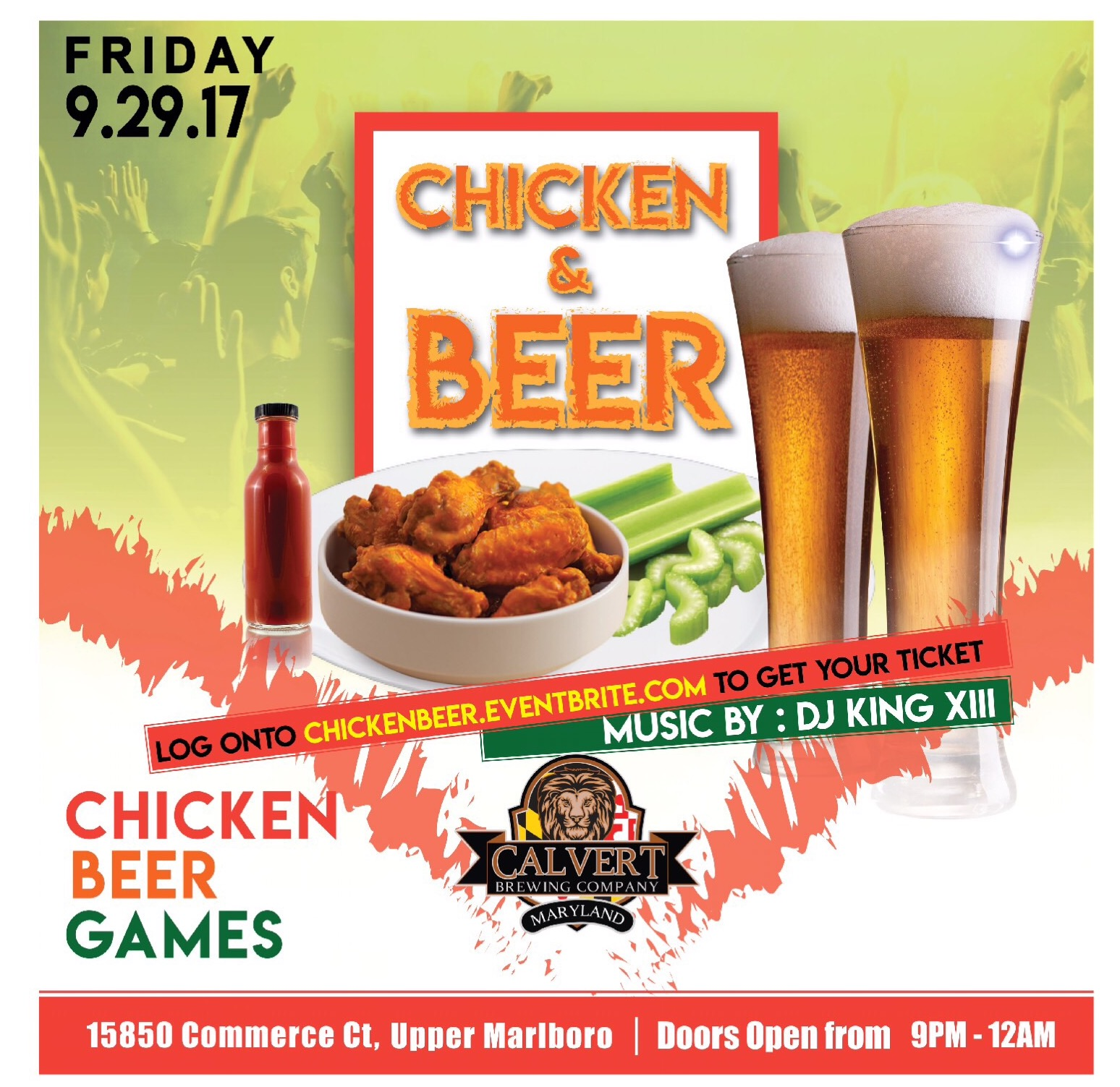 DMV.BLACK Chicken & Beer
