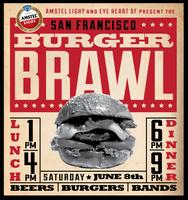 BURGERS, BEERS, & BANDS presented by AMSTEL LIGHT and EYE HEART SF