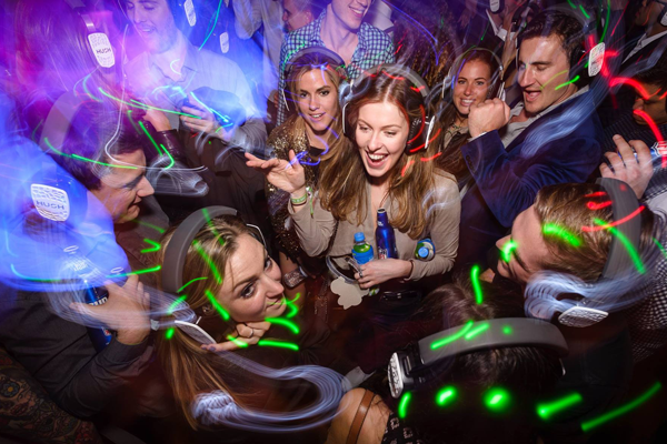 Silent Disco New Years Eve