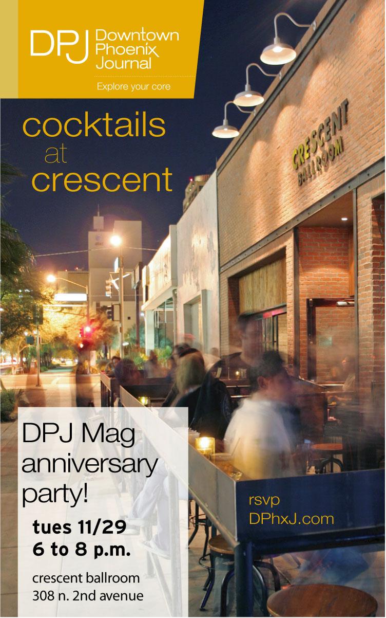 RadiatePHX Invitation | DPJ Mag Anniversary Party
