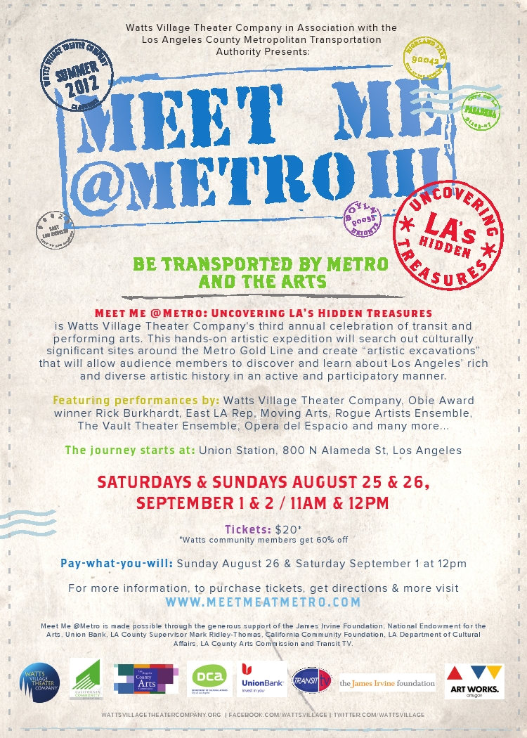 Meet Me @Metro III Postcard
