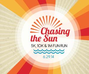 Chasing the Sun Virtual 5K/10K Walk & Run #runthehood #chasingthesun