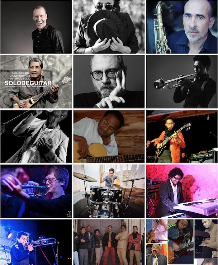 nbjf18 - les artistes de l'édition 2018