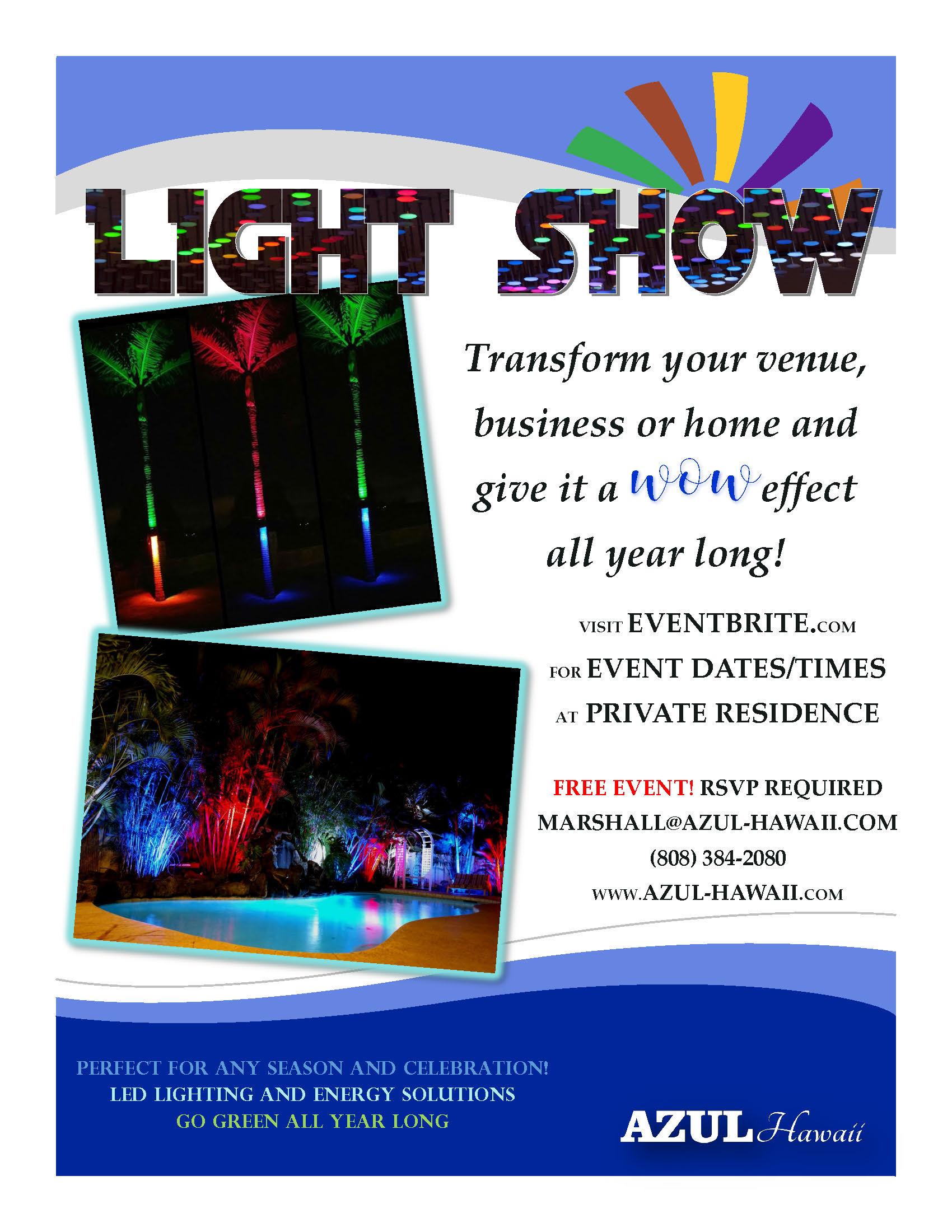 Azul Hawaii - Light Show