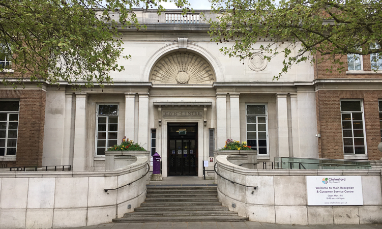 Civic Centre Entrance
